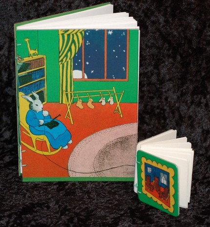 Good Night Moon Handbound Journal and Mini Sketch Book
