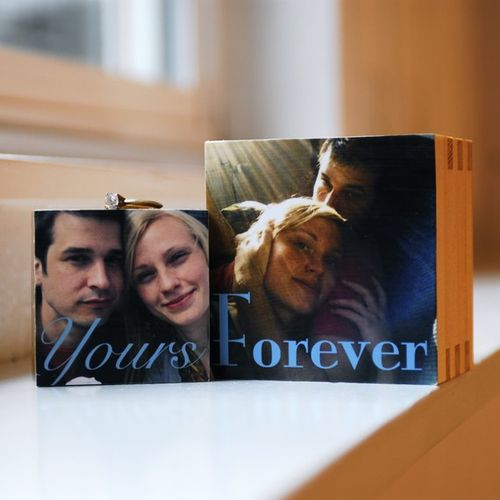 Custom Nesting Photo Ring Box